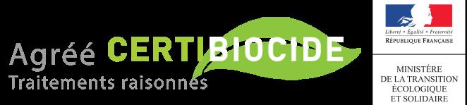 Certificat biocide pour traitement contre les punaises de lit à Antibes.